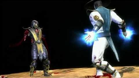 Mortal Kombat (2011) - Fatalities & Babality - Raiden