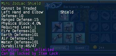 Level 04 mini zodiac shield pics