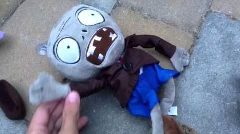 Plants vs Zombies Plush The Zombies Attack