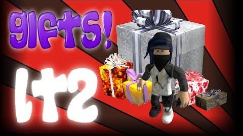 OPENING ALL GIFTS IN LUMBER TYCOON 2 ROBLOX!! GAMEPLAY