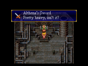 Althena's Sword Eternal Blue