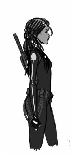 Iko character sketch by Douglas Wolgate