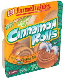 Lunchables Cinnamon Rolls