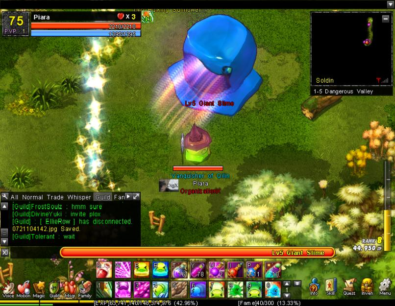 Orb Attack (1-5H)