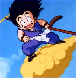 383px-Goku On The Flying Nimbus