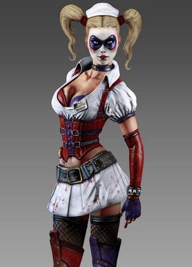 Arkham Asylum Harley