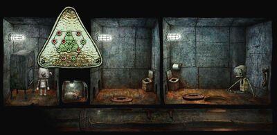 Mini-game 5 on-screen