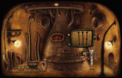 Mini-game 2 on-screen