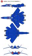 VF22S Fighter-Left-Top-Bottom-Front-Back
