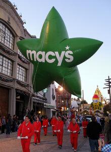 Macy's Green Star