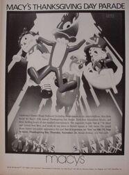 Macy's Parade 1985 Poster