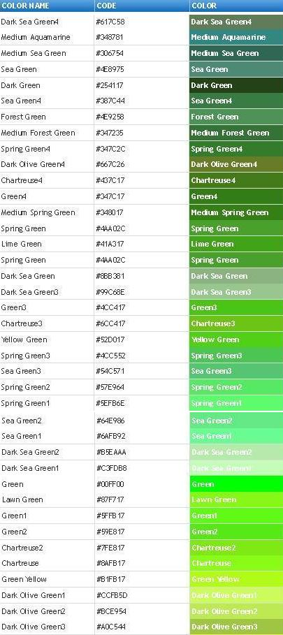 Html color chart-04