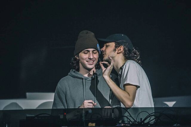 File:Porter Robinson and Madeon during Shelter Live.jpg