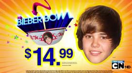 Bieber Bowl Parody Ad Title