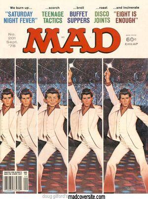 MAD Magazine Issue 201
