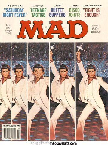 File:MAD Magazine Issue 201.jpg