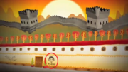 Alfred in the wall of China