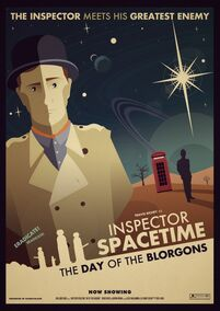 Inspector spacetime the day of the blorgons by Jonathan Eveson