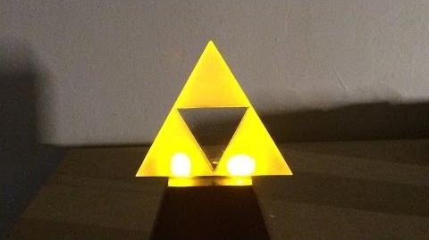 Make A Glowing L.E.D Triforce!