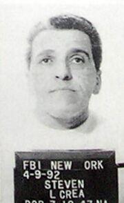 FBI mugshot of New York mobster Steven Crea