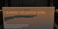 Barker 390 (Gator Skin)