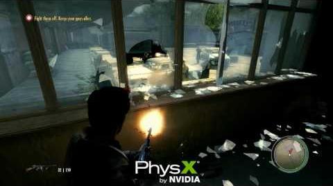 Mafia II Nvidia PhysX Trailer