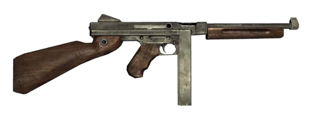 File:Mafia II - Thompson M1A1.png