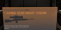 Hawk 4540 Night Vision