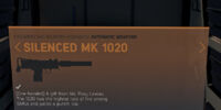 Silenced MK 1020
