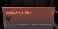 Screaming Zemi