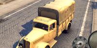 Italian Military Truck