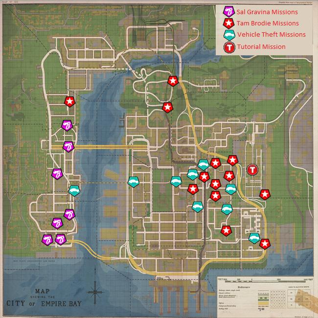 Betrayal Map