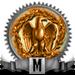 Mwach Meestery riser bronze 90x90