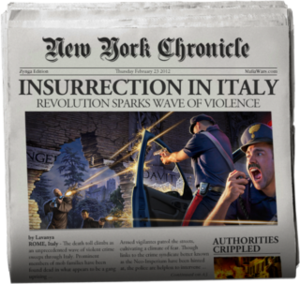 Insurrection In Italy MW Blog