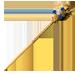 Standard 75x75 collect stickpin diamond