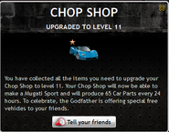 Chop Shop Level 11