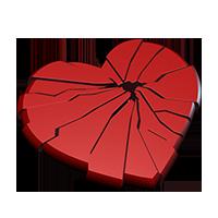 Картинки по запросу разбитое сердце png
