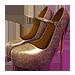 Standard 75x75 collect platform heels