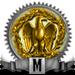 Mwach Meestery riser gold 90x90