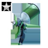 Huge item paintItgreen silver 01