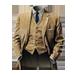 Standard 75x75 collect gangster apparel gabardine suit