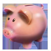 Huge item piggy bank 01