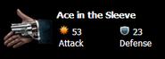 Ace up the sleeve