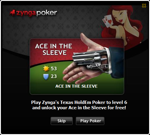 Poker Popup AceintheSleeve