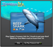 Treasure Isle - Reef Shark