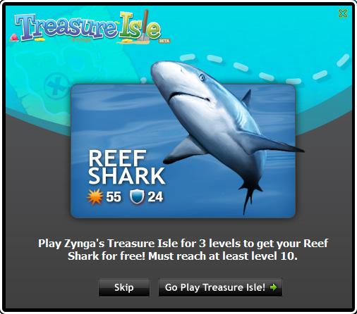 Treasure Isle - Reef Shark