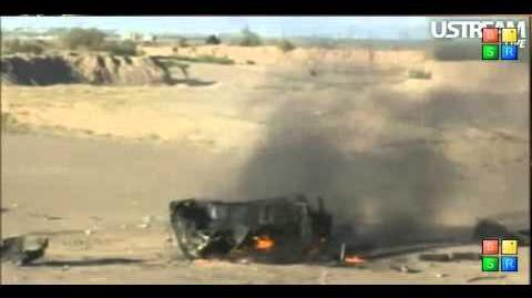 Mafia Wars Truck Explosion