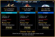 Last Score 2009 Jobs