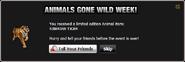 Animals Gone Wild Siberian Tiger