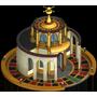 Roulette casino built icon
